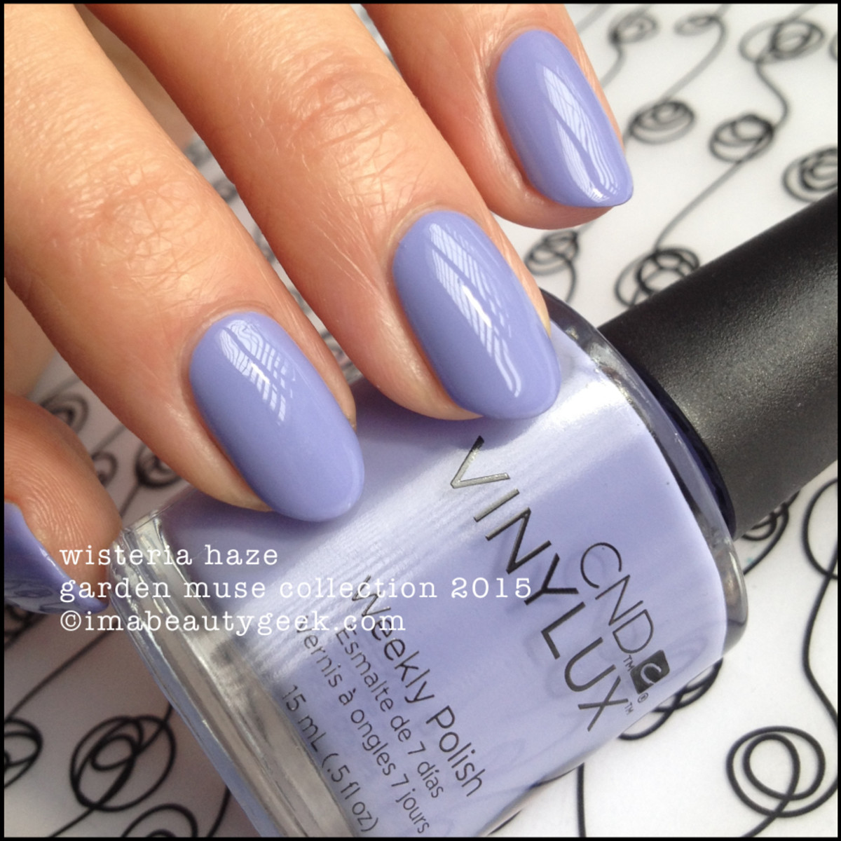 CND Vinylux Wisteria Haze Garden Muse Collection 2015