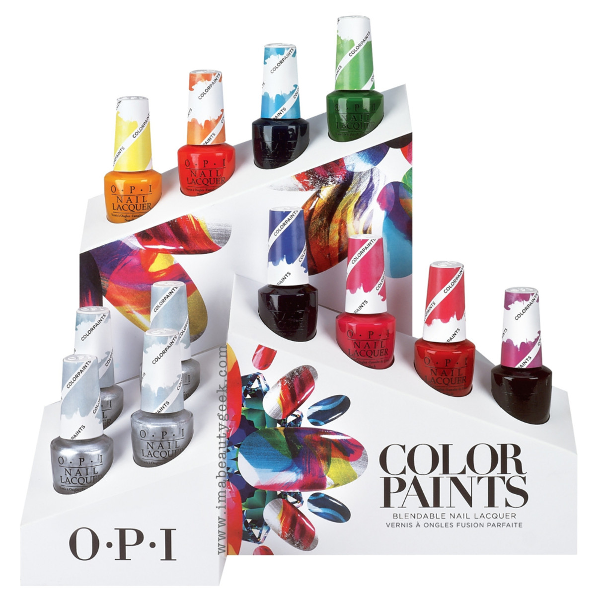 OPI ColorPaints Beautygeeks Header