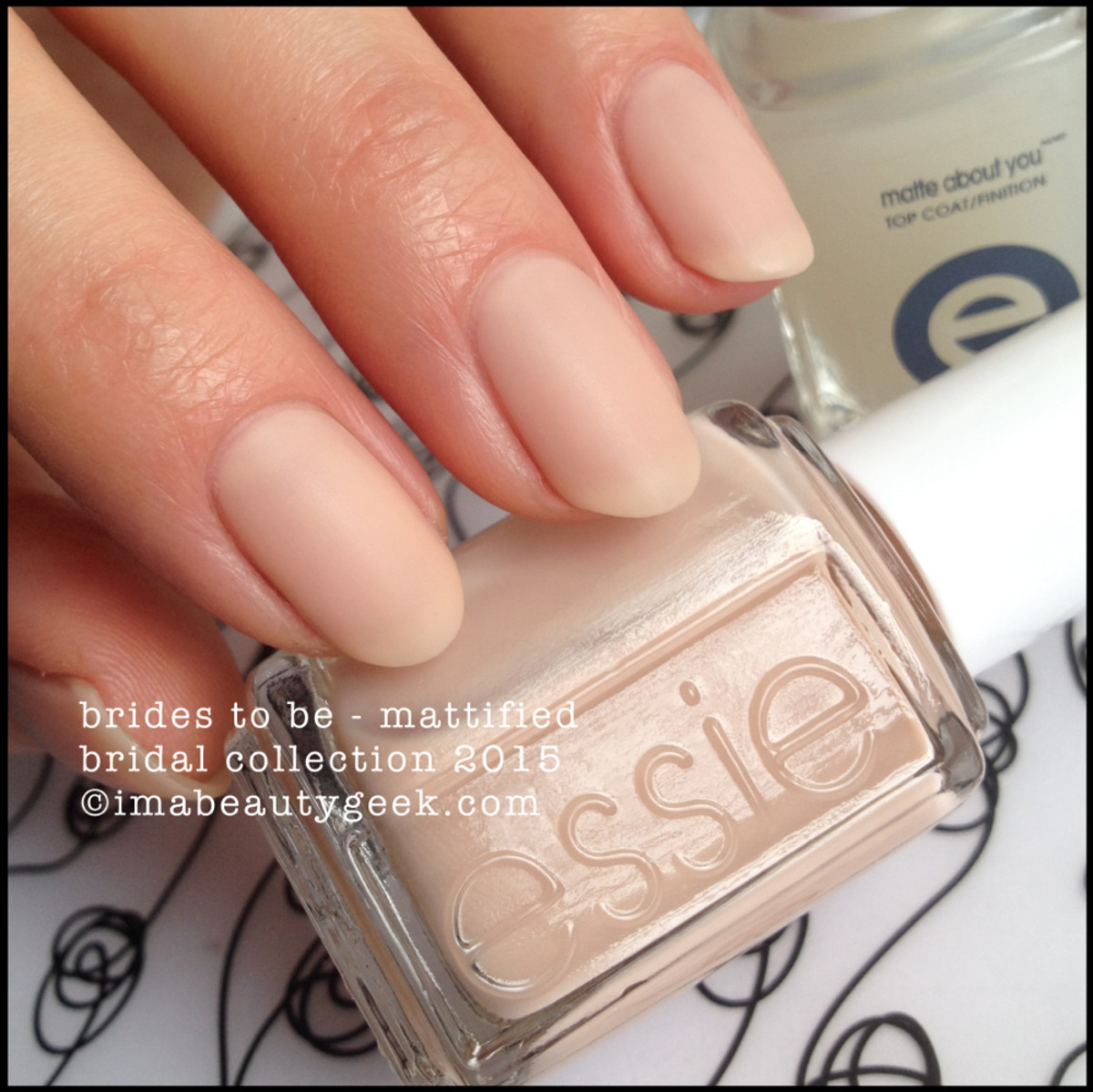 Essie Bridal 2015 Essie Brides to Be Mattified