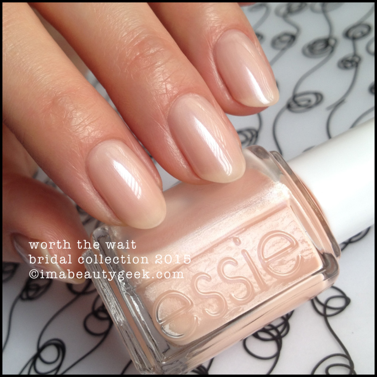 Essie Bridal 2015 Essie Worth the Wait