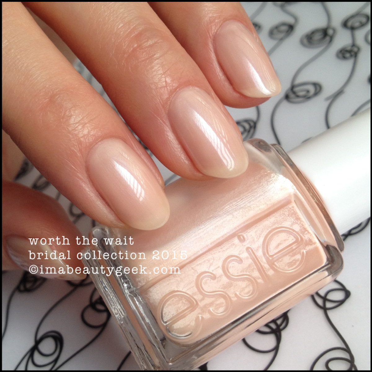 Essie Worth the Wait Essie Bridal Collection 2015