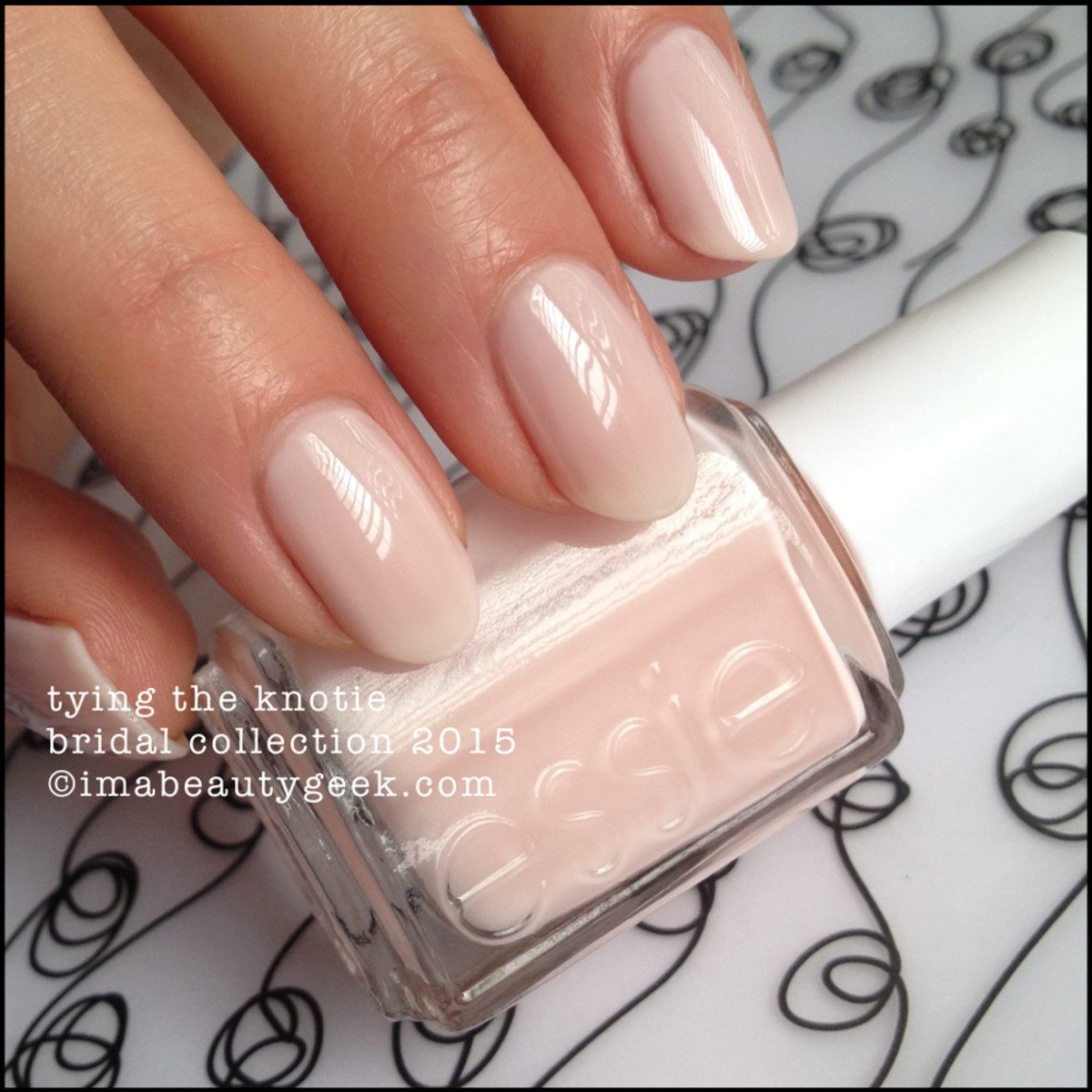 Essie Tying the Knotie Essie Bridal Collection 2015