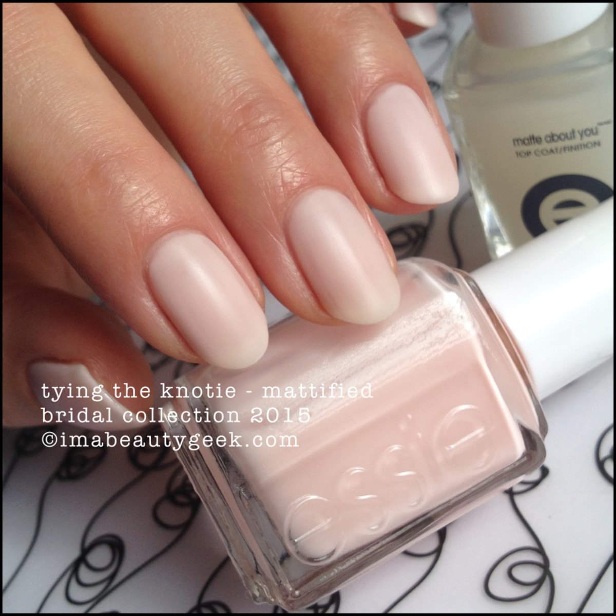 Essie Bridal 2015 Essie Tying the Knotie
