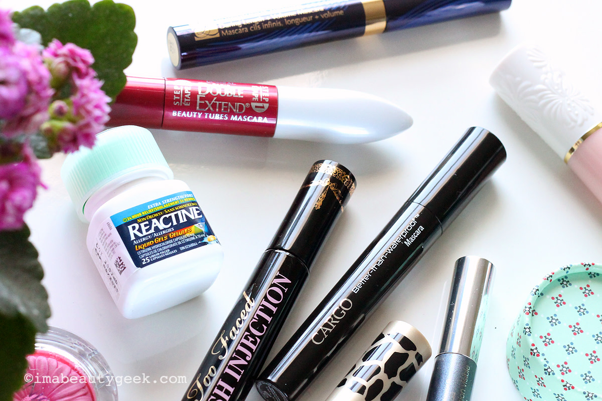 Best Tube Mascaras for Allergy Season_or Reactine works too