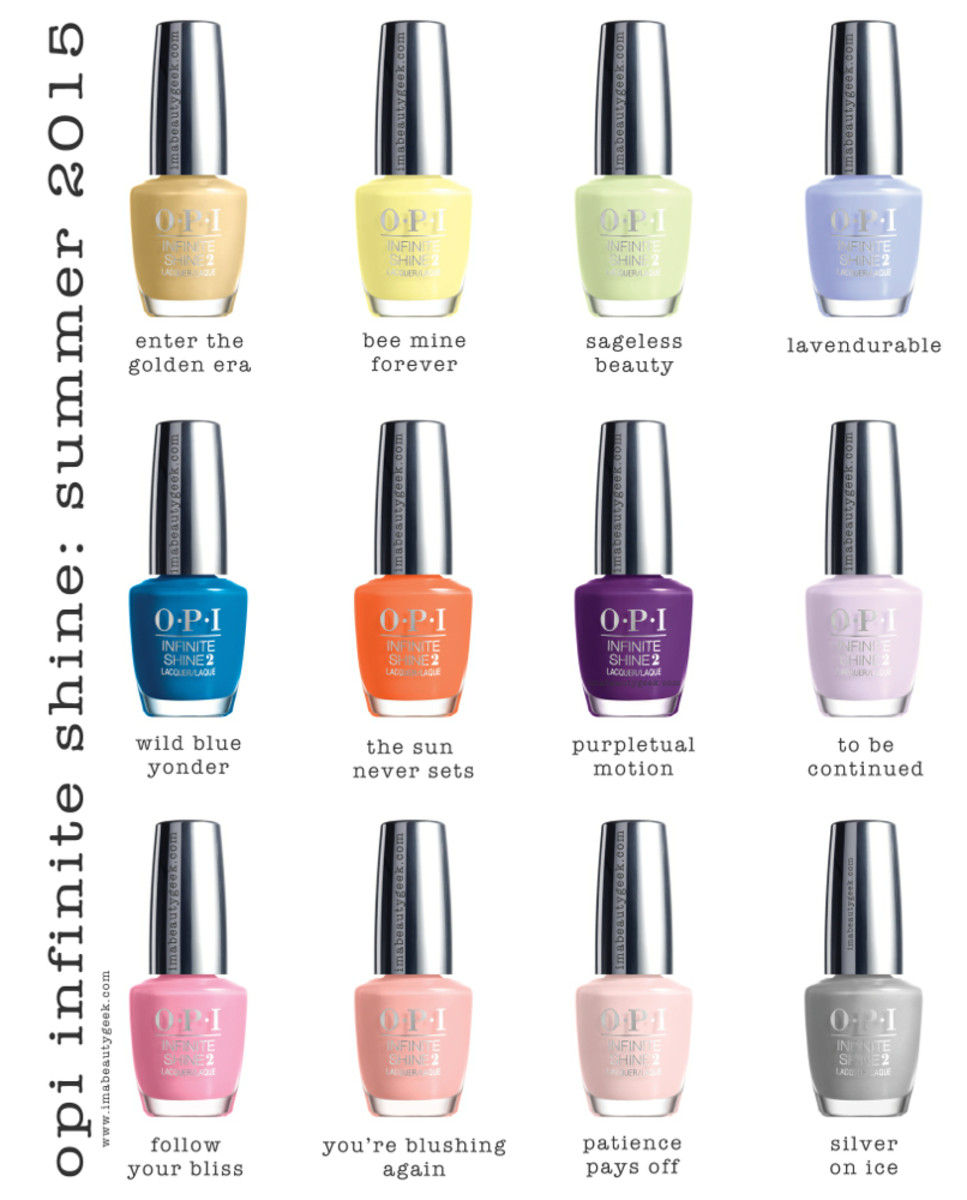 OPI IS Infinite Shine Summer 2015 Purpletual Emotion