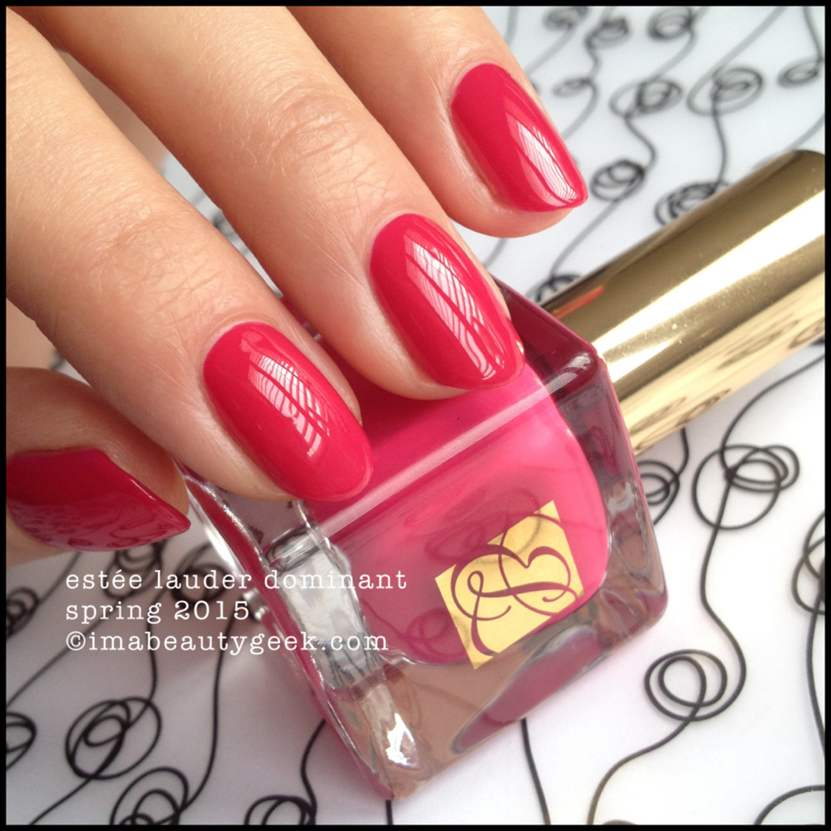 ESTEE LAUDER DOMINANT PURE COLOR NAIL ENVY #NOTD - Beautygeeks