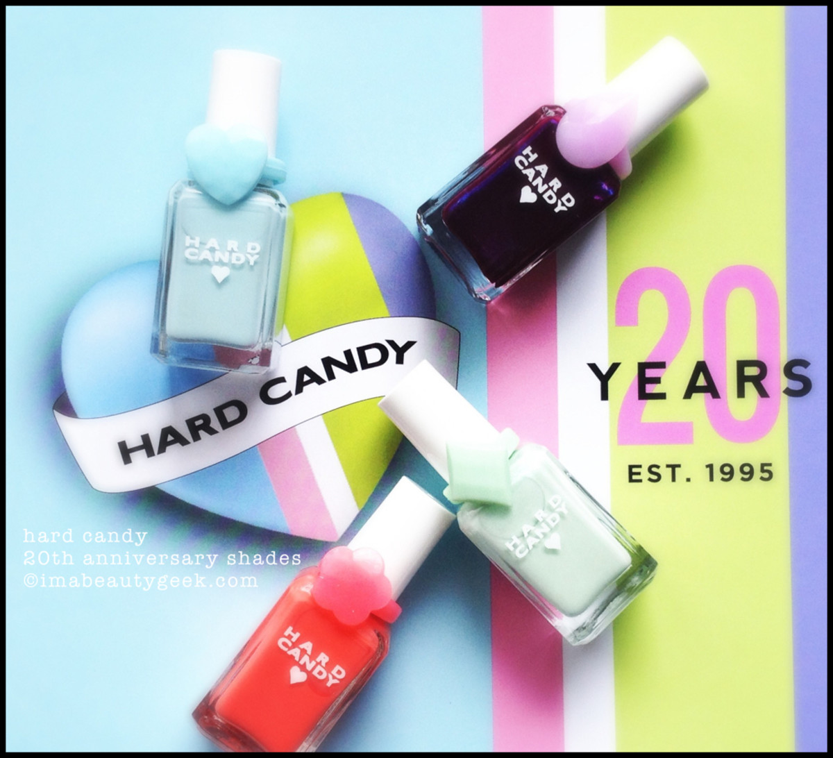 Hard Candy Nail Polish Sky Mint Tangerini Scam 20th Anniversary Polish