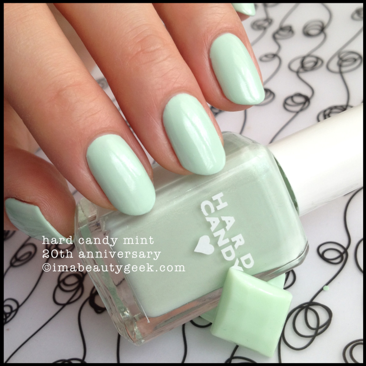 Hard Candy Mint 20th Anniversary Nail Polish 2015