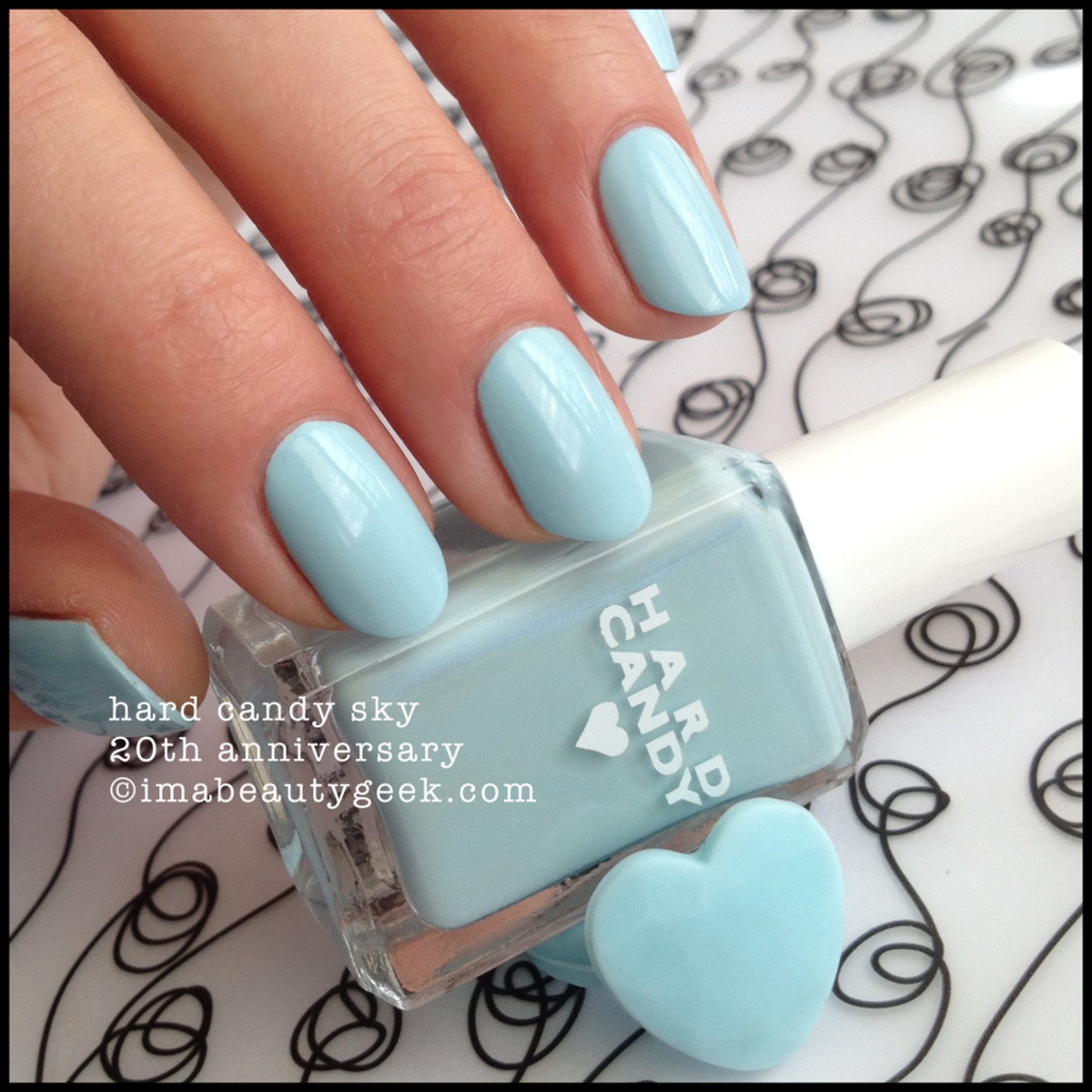 Hard Candy Sky 20th Anniversary Nail Polish