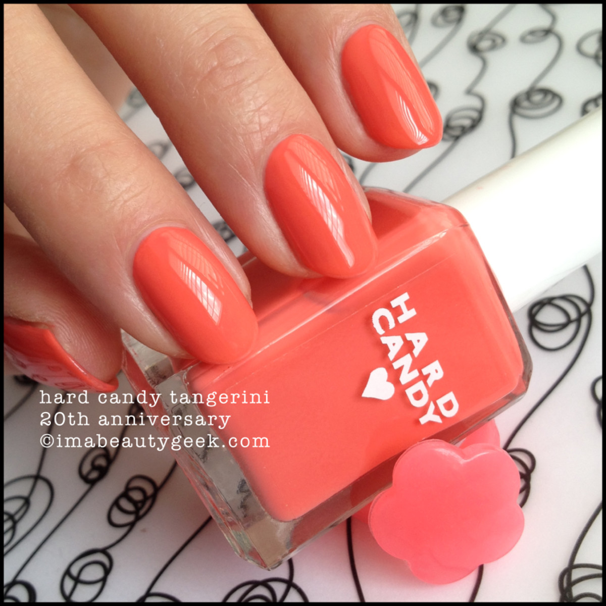 Hard Candy Tangerini 20th Anniversary Nail Polish 2015