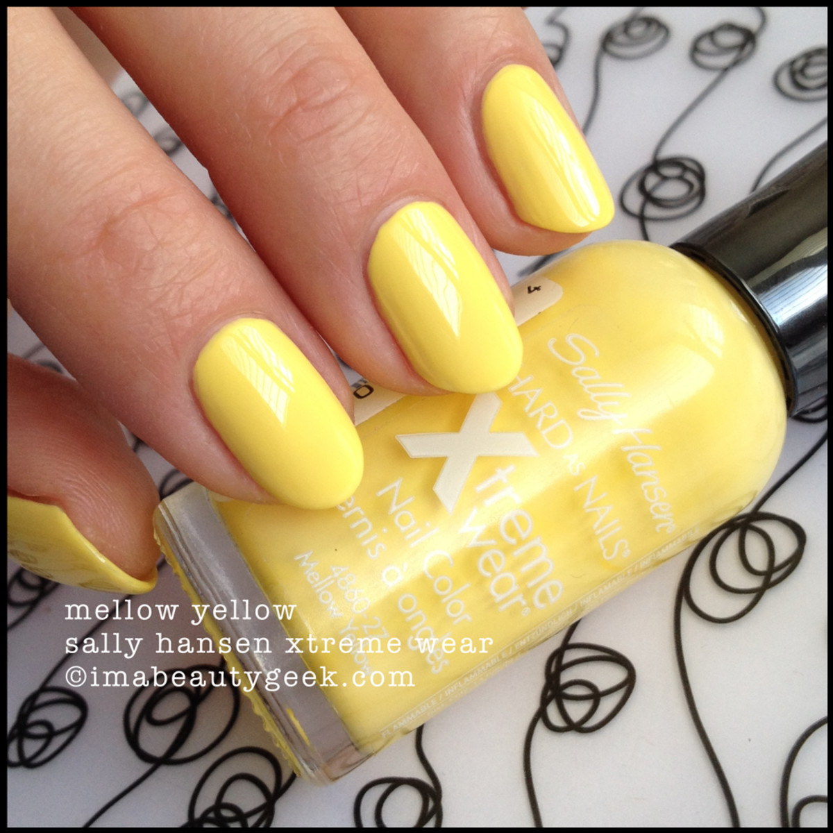 Sally Hansen Mellow Yellow Xtreme Wear Beautygeeks