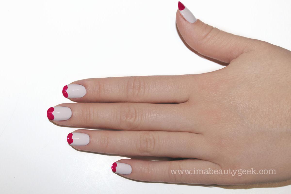 JINsoon Little Easter Eggs nail art manicure step 3