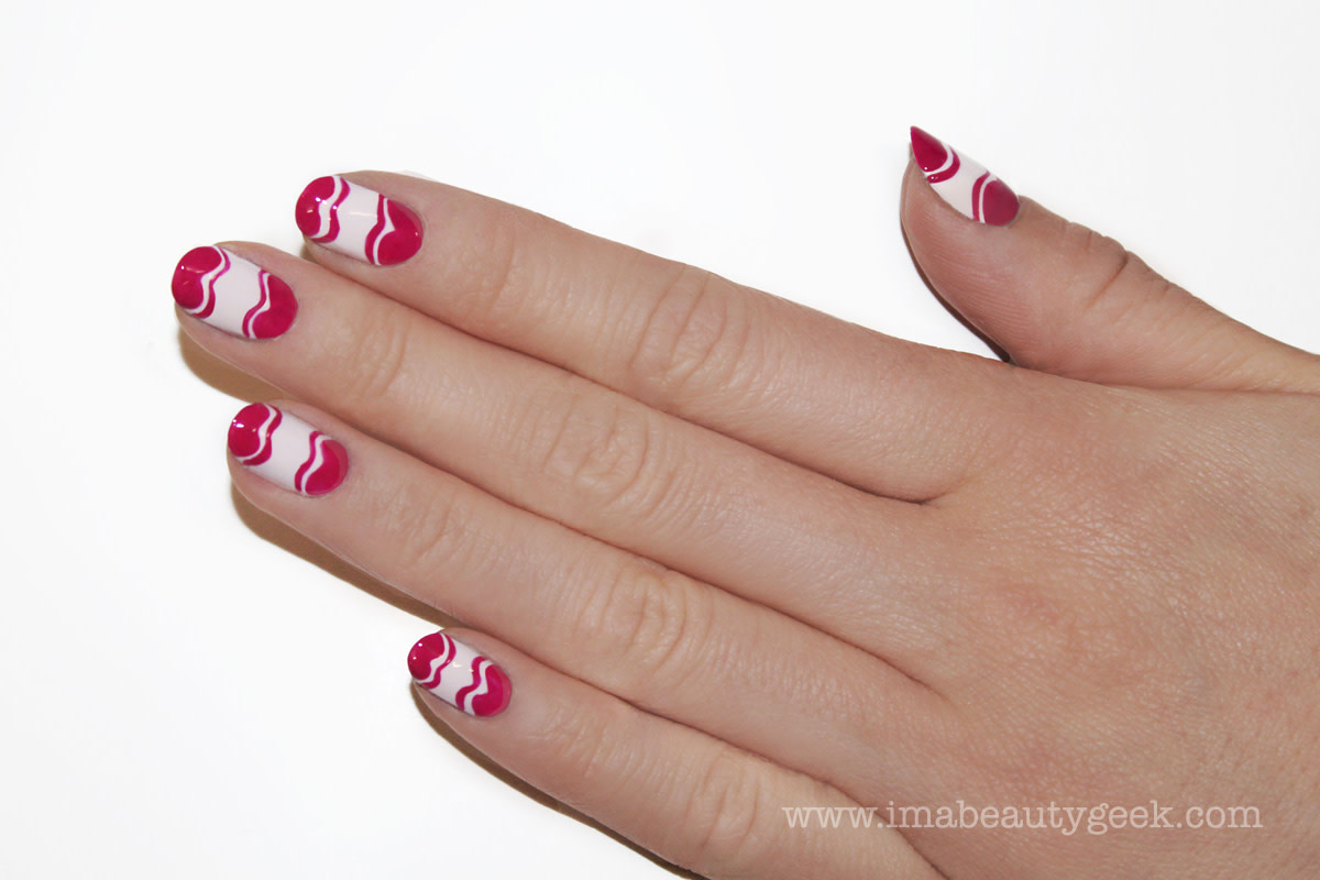 JINsoon Little Easter Eggs nail art manicure step 6