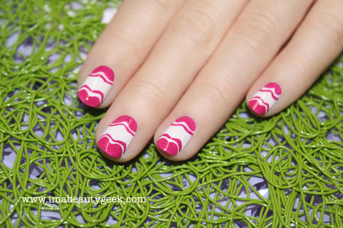 JINsoon Little Easter Eggs manicure_nail art