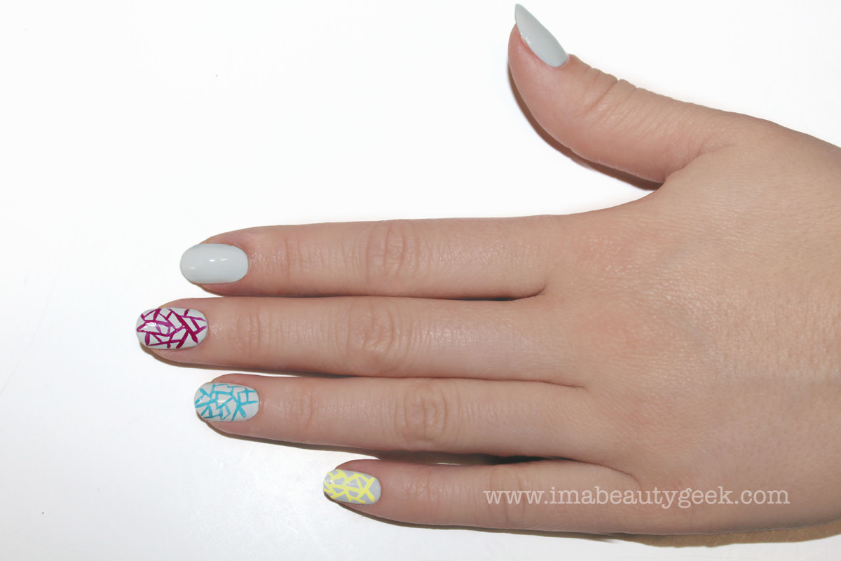 JINsoon Egg Shells manicure nail art step 5