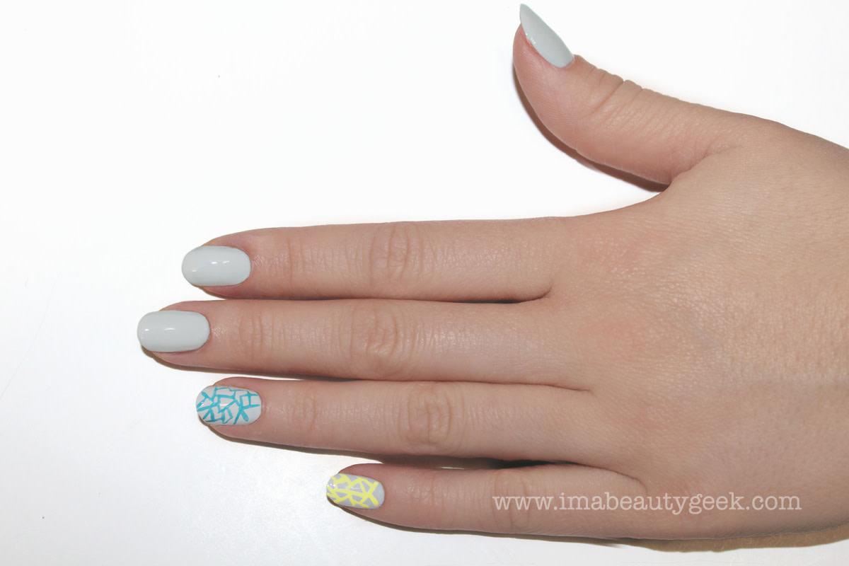 JINsoon Egg Shells manicure nail art step 4
