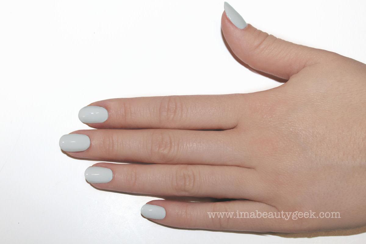 JINsoon Egg Shells manicure nail art step 2