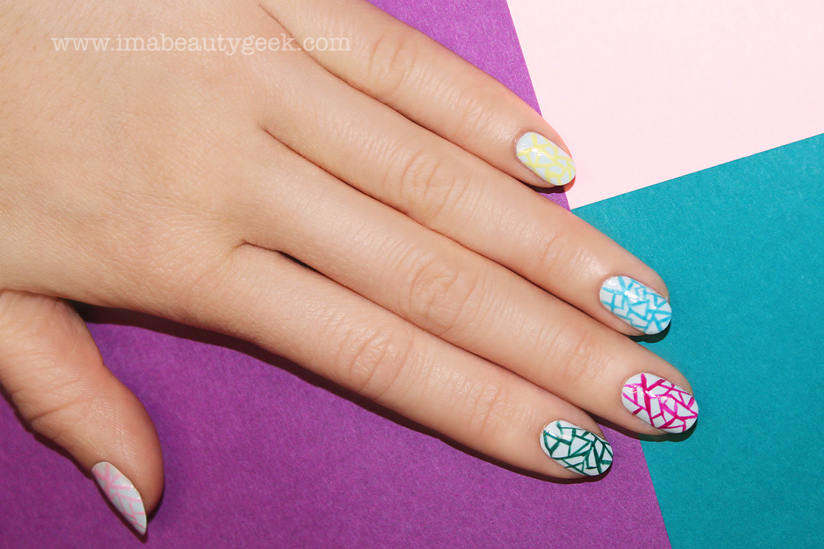 HOW-TO: EGG SHELLS NAIL ART BY JINSOON - Beautygeeks