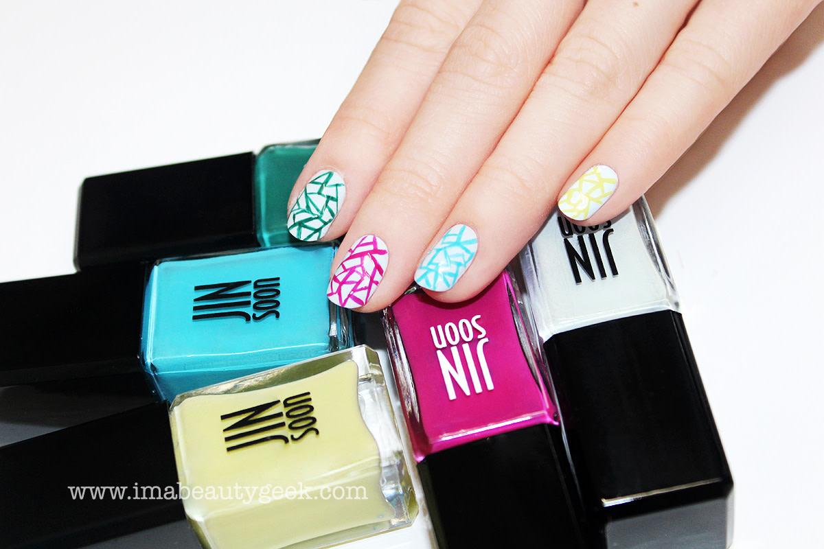 JINsoon Egg Shells manicure nail art step 8