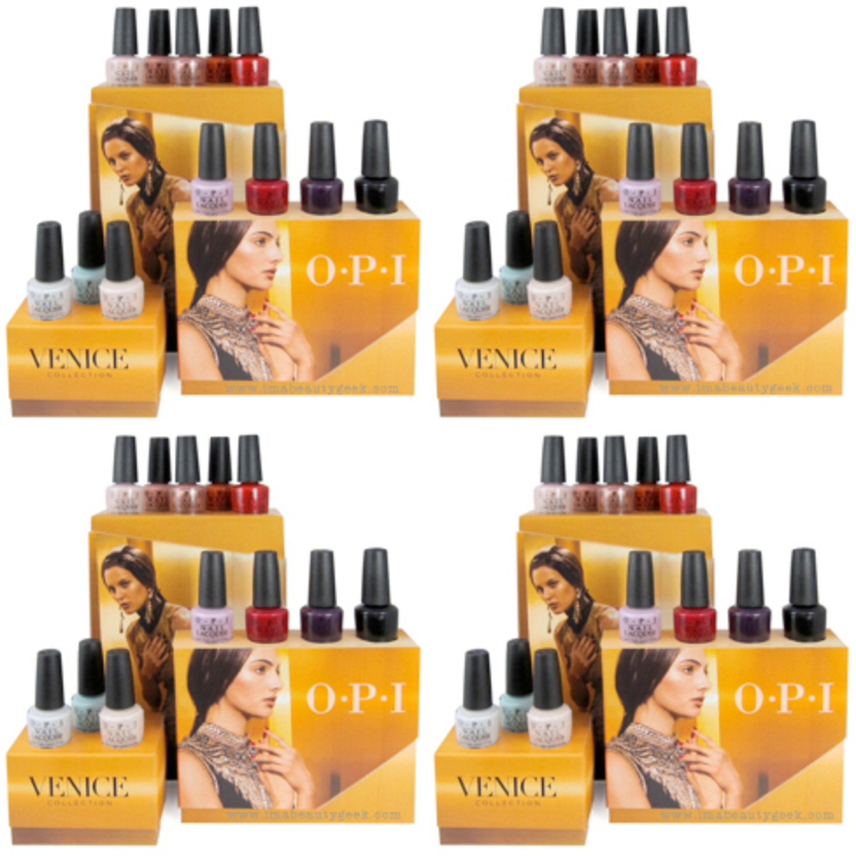 OPI Venice 2015 Collection Display Beautygeeks