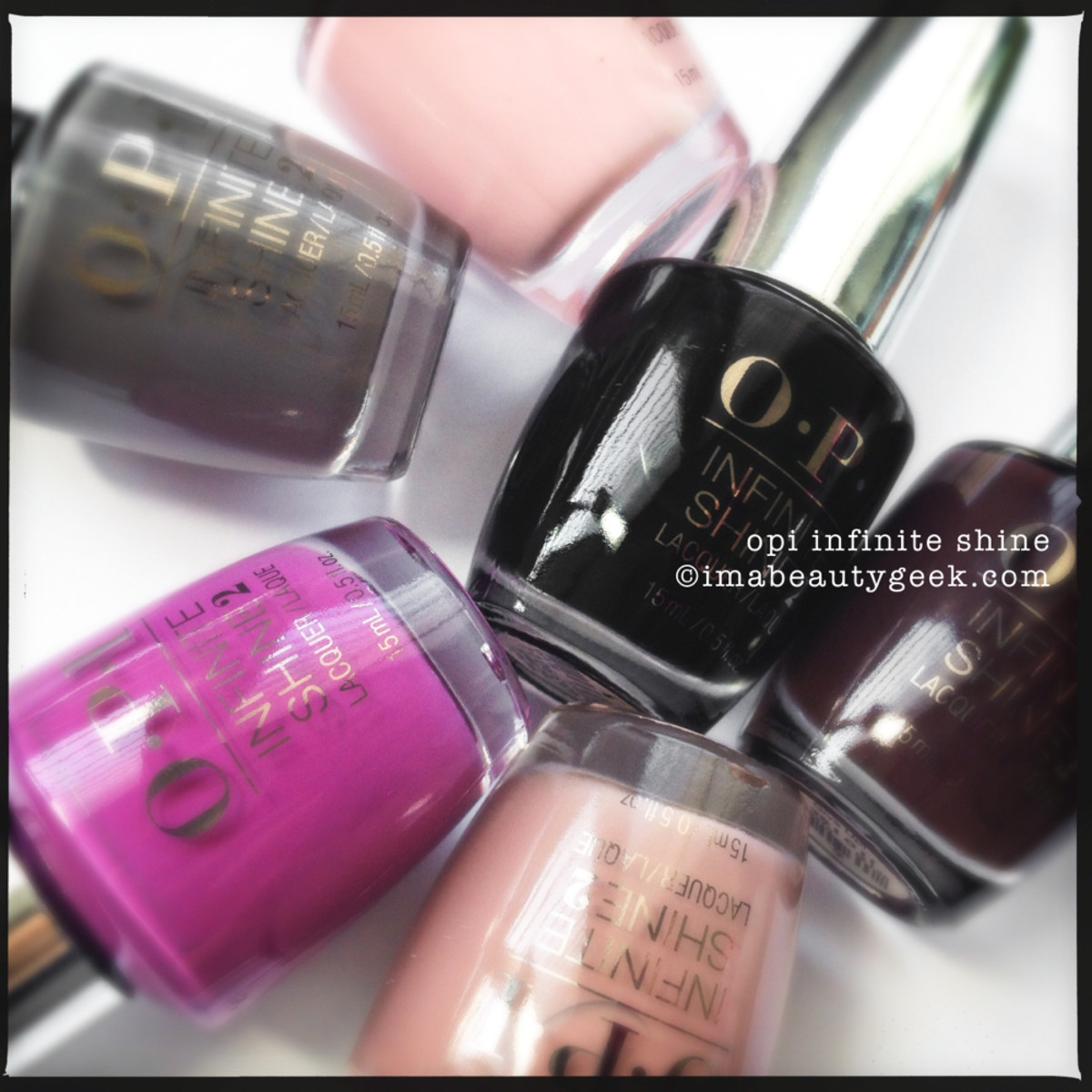 OPI Infinite Shine Swatches Beautygeeks