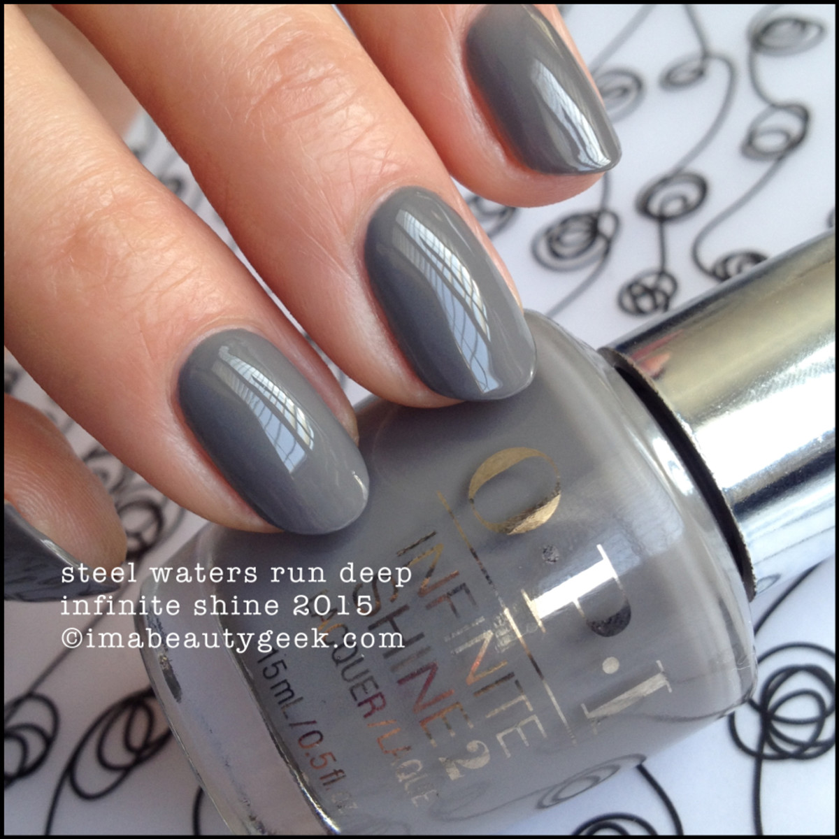 OPI Infinite Shine Steel Waters Run Deep