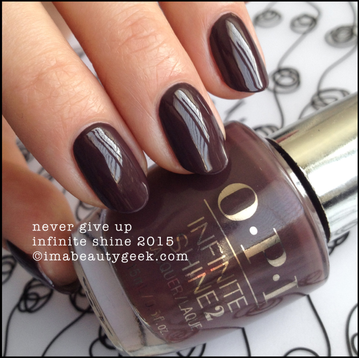 OPI Infinite Shine Never Give Up