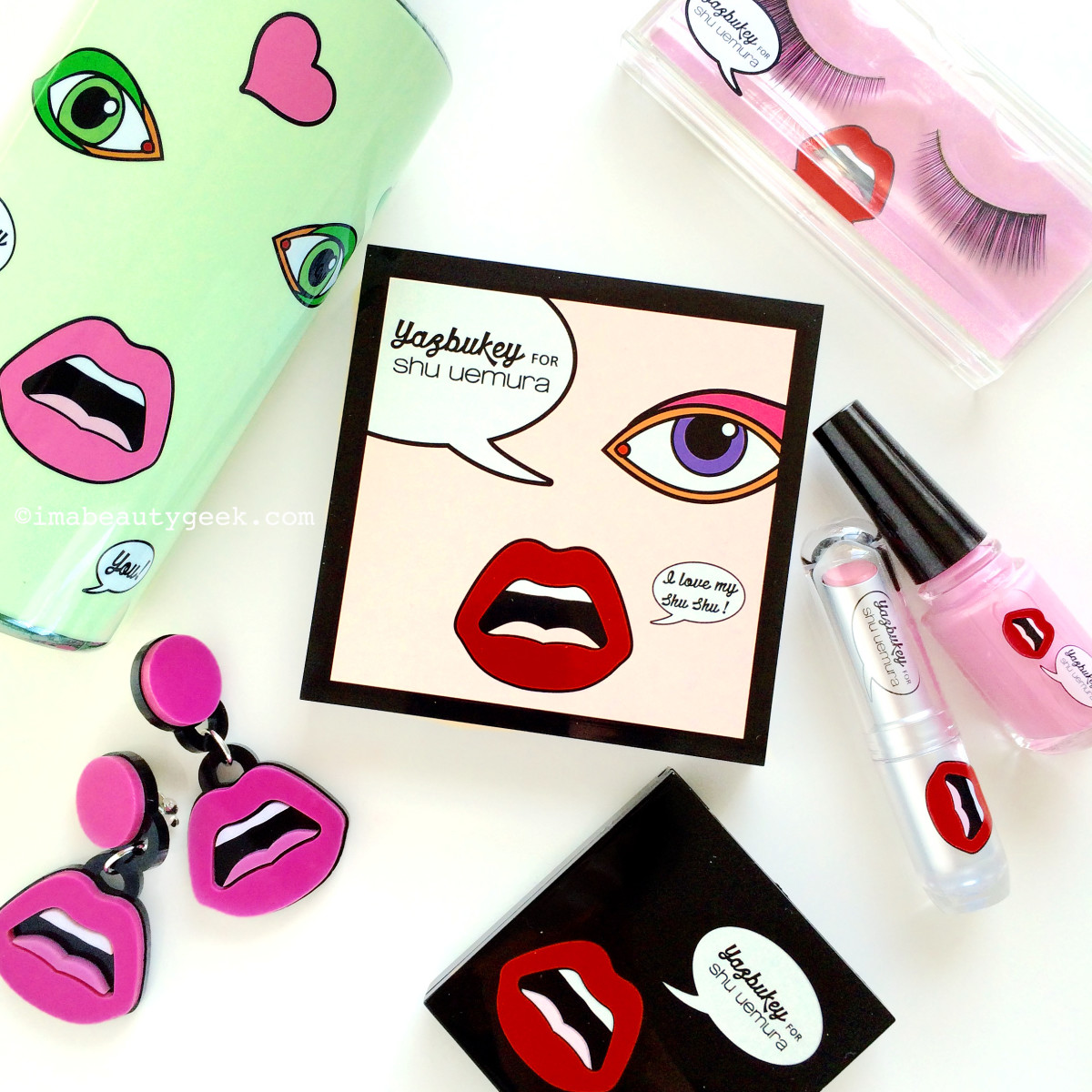 yazbukey for Shu Uemura Collection for Summer 2015