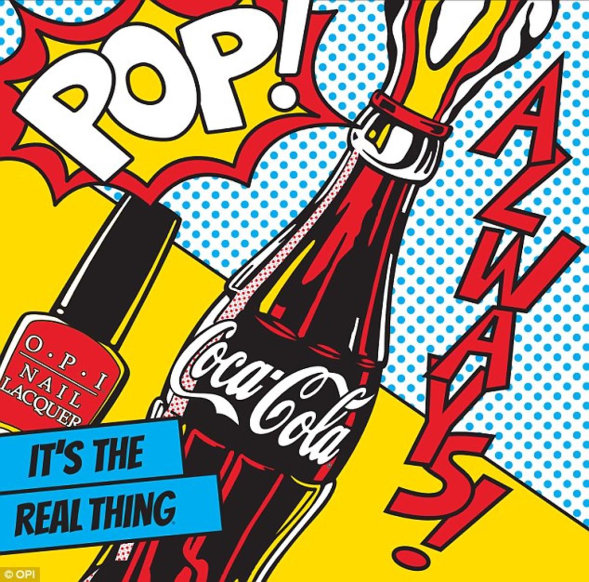 Beautygeeks OPI CocaCola 100