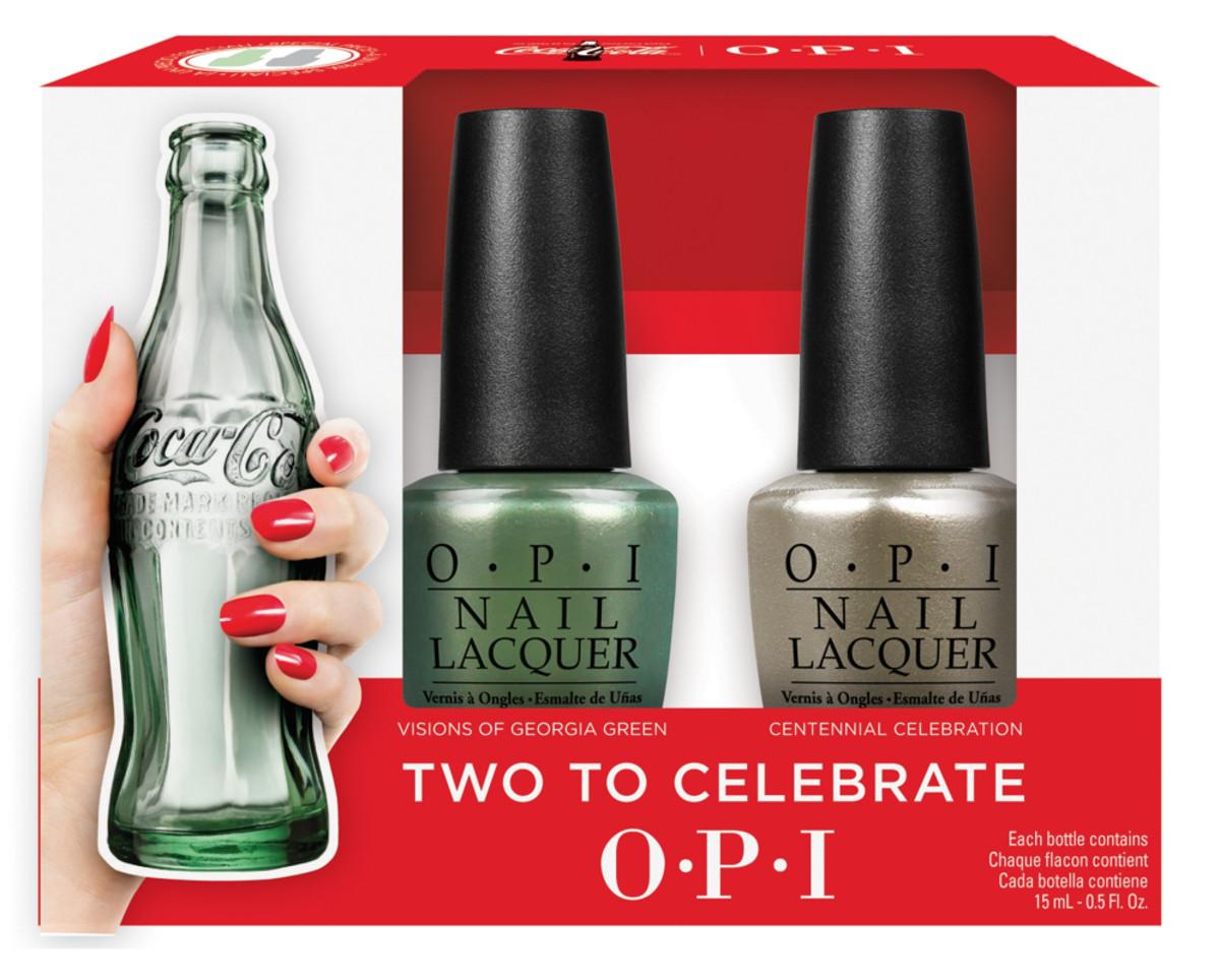 OPI Coca-Cola Celebration Duo 2015