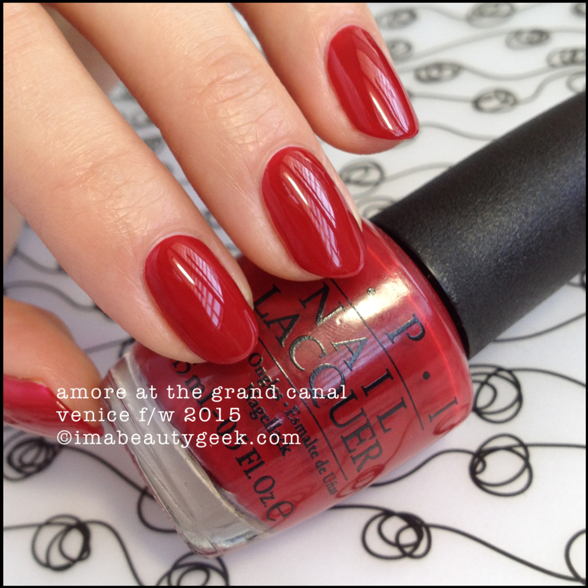 OPI Venice 2015 - OPI Amore at the Grand Canal