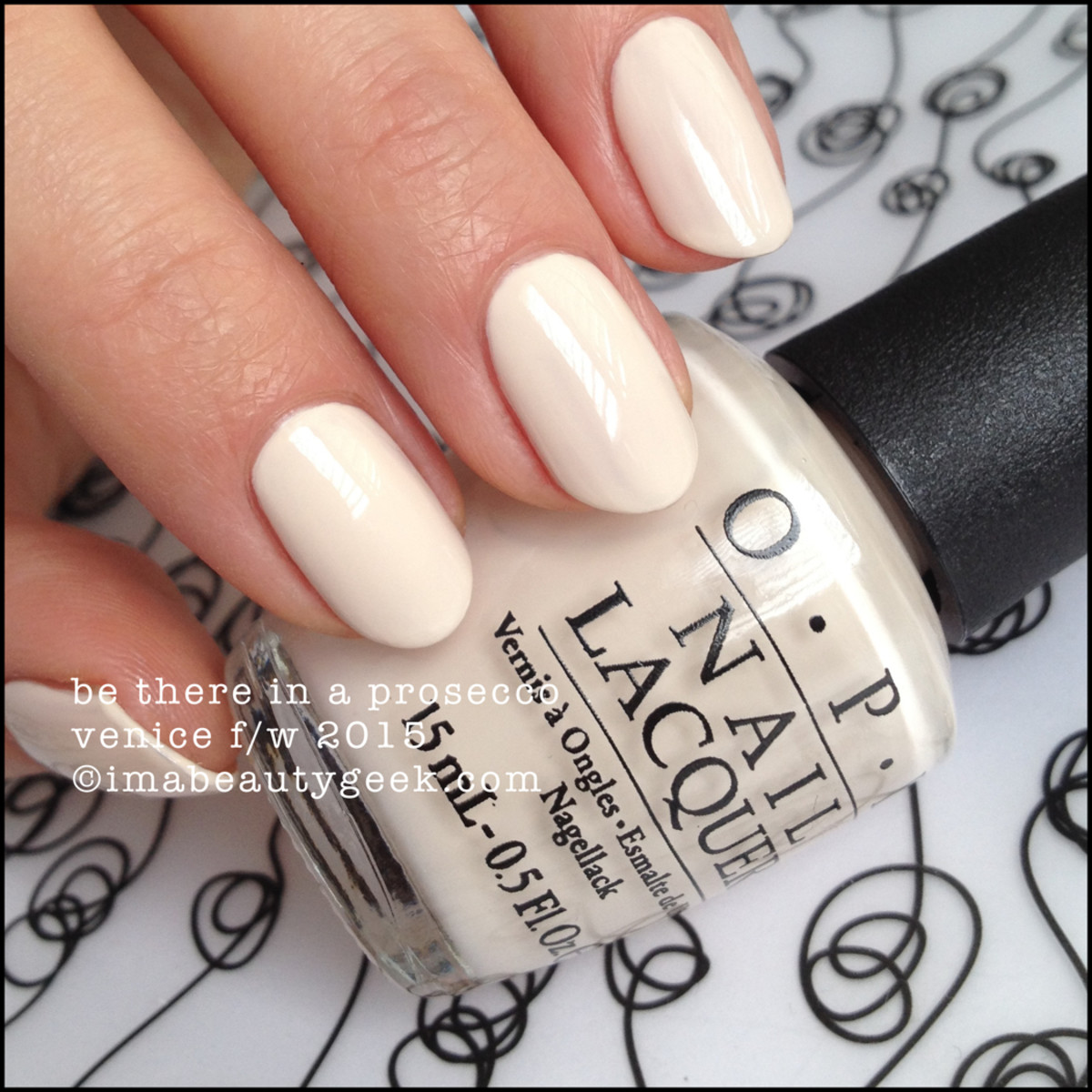 OPI Be There in a Prosecco OPI Venice 2015