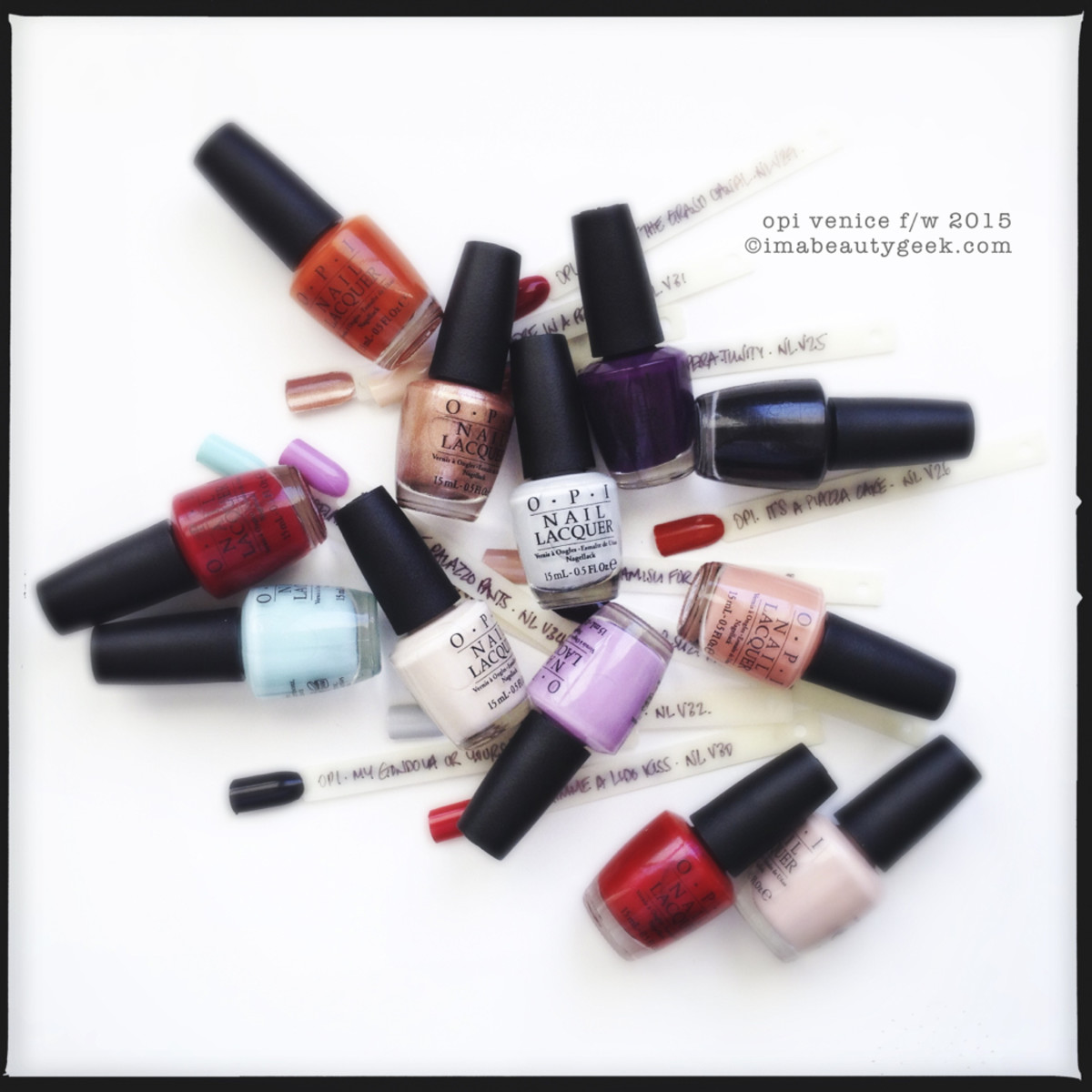 OPI Venice Collection F/W 2015
