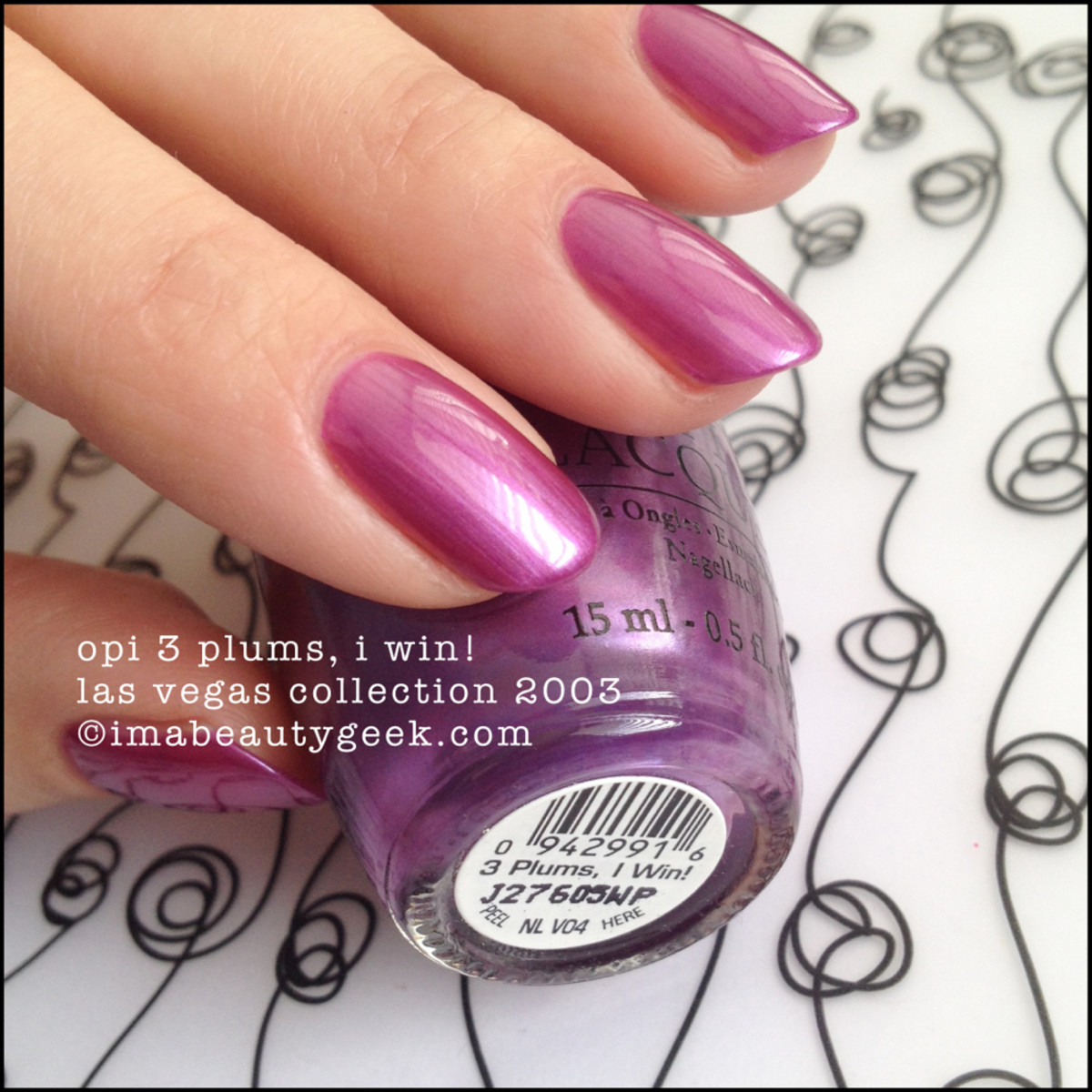OPI 3 Plums I Win Las Vegas Collection 2003 Beautygeeks_2