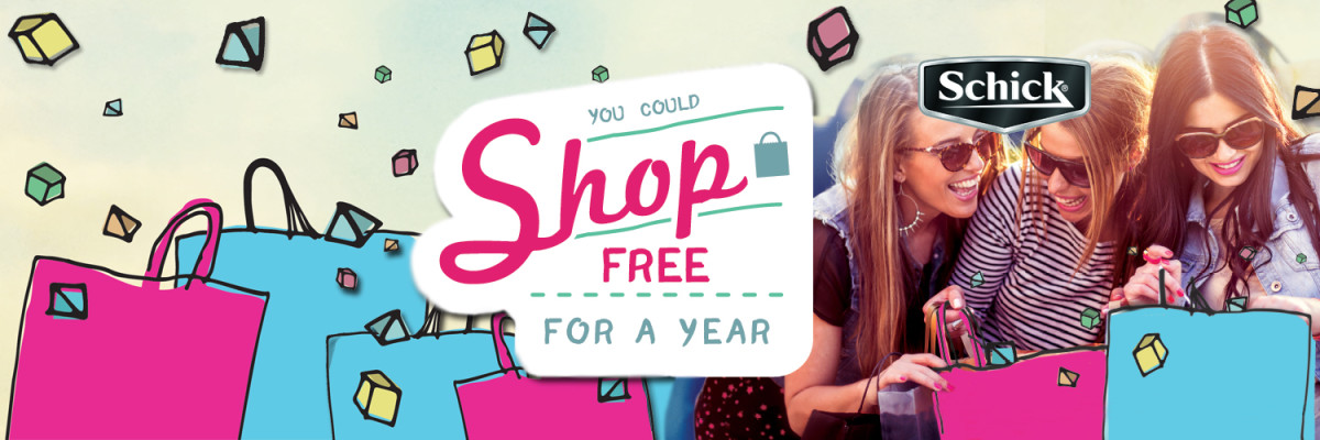 Schick Shop Free Twitter Party rules