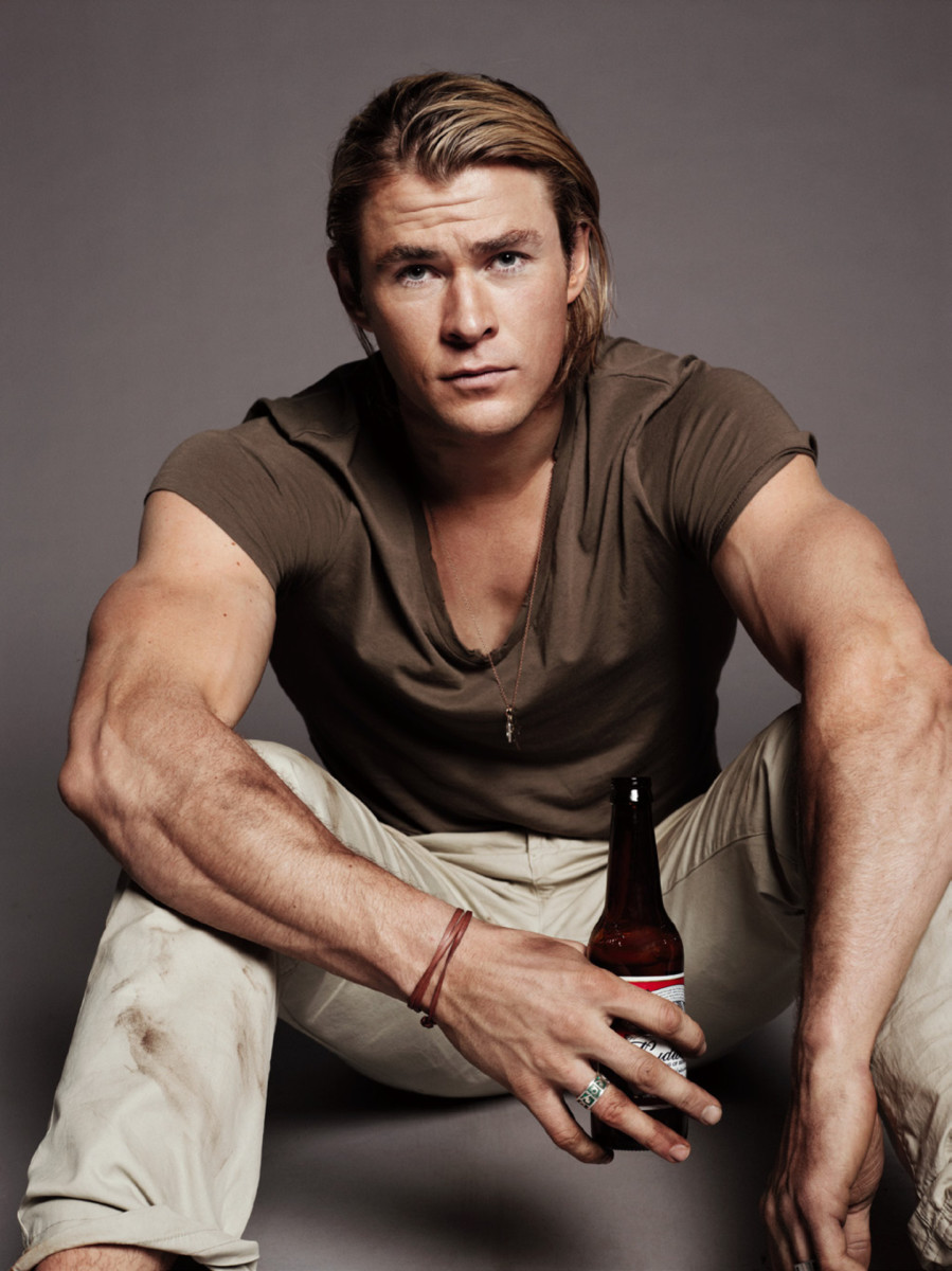 Chris Hemsworth or the Biore Charcoal Bar for shower tingles