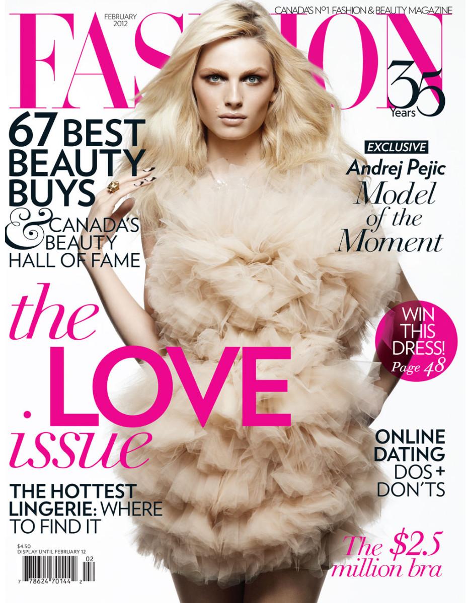 Andreja Pejic transgender model_Andrej Pejic Fashion Magazine cover