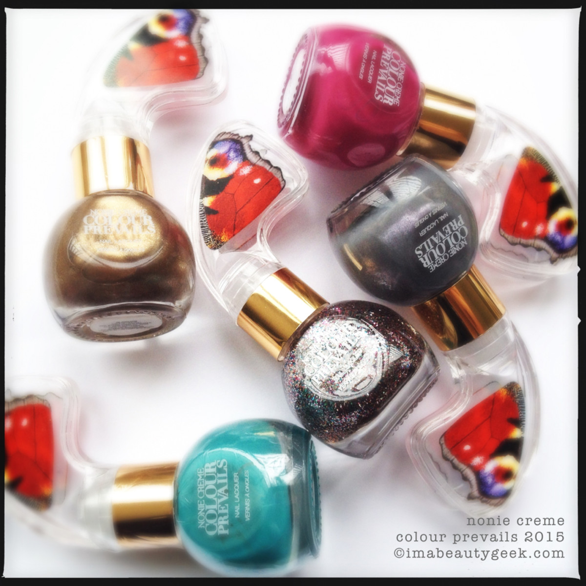 Colour Prevails Nail Polish Swatches and Review_Bottles