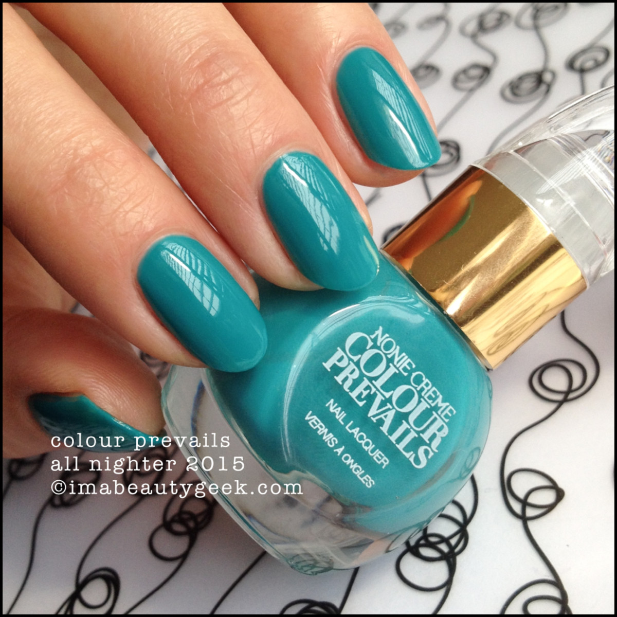 Colour Prevails All Nighter Nail Lacquer by Nonie Creme