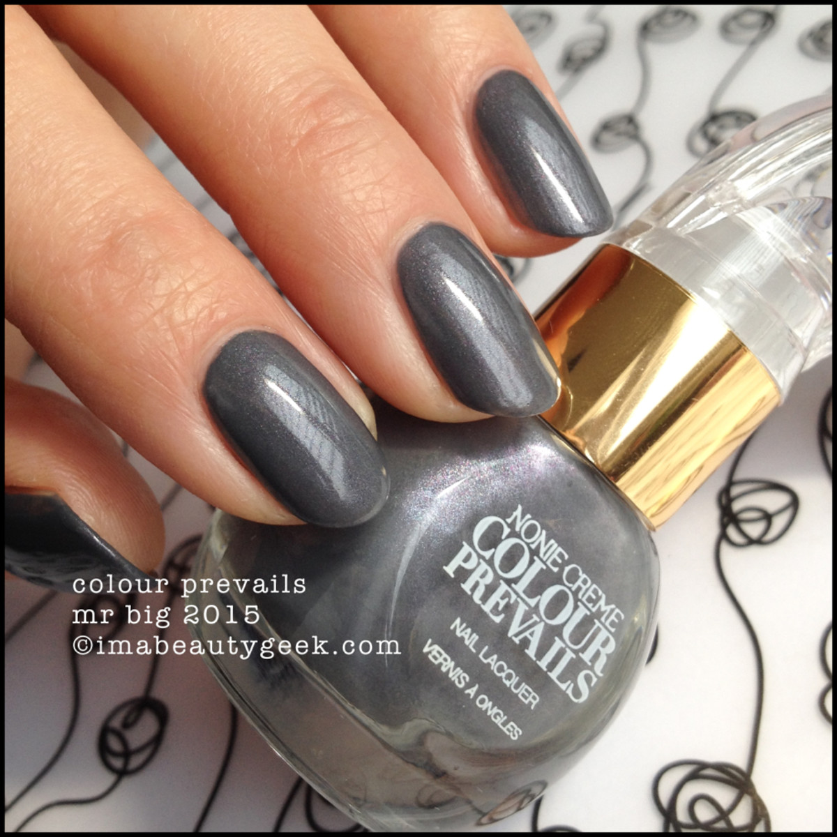 Colour Prevails Mr Big Nail Lacquer by Nonie Creme