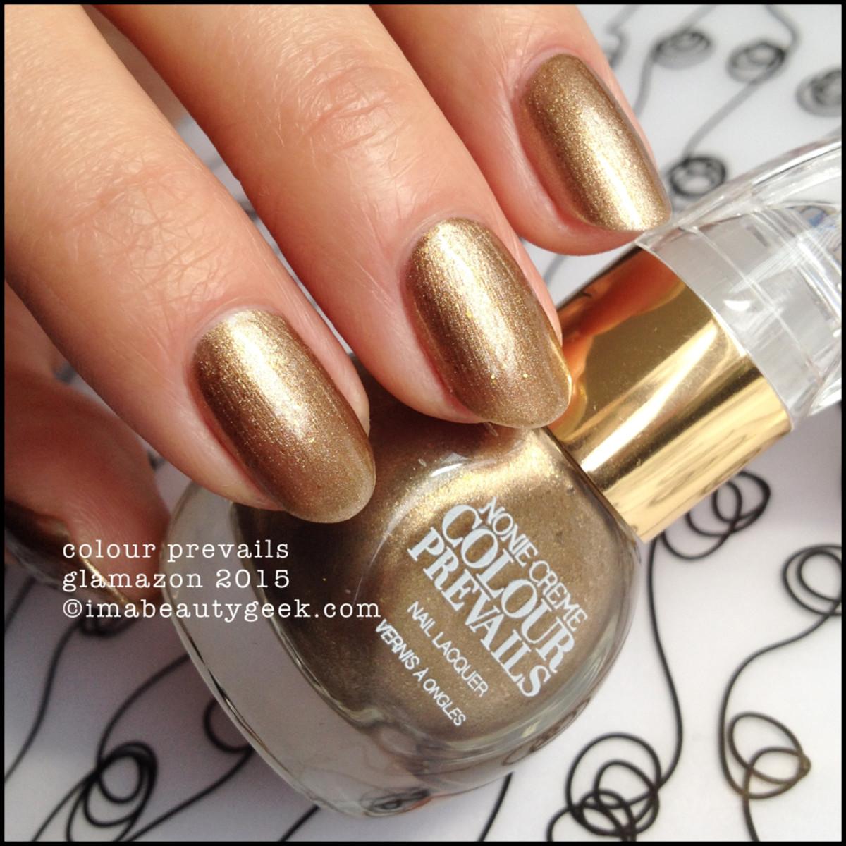 Colour Prevails Glamazon Nail Lacquer by Nonie Creme