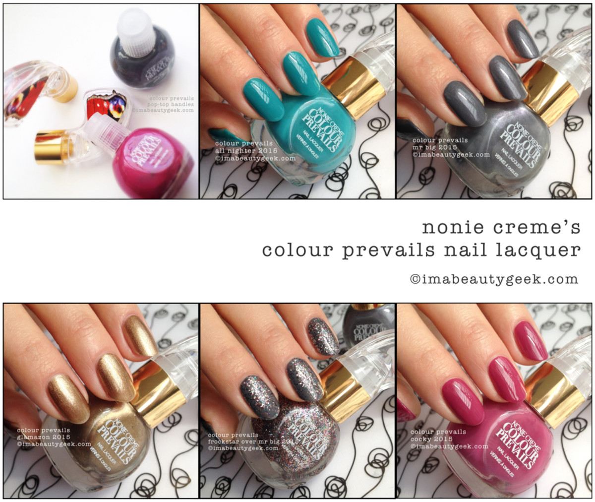 Colour Prevails Nail Polish Swatches Beautygeeks Composite