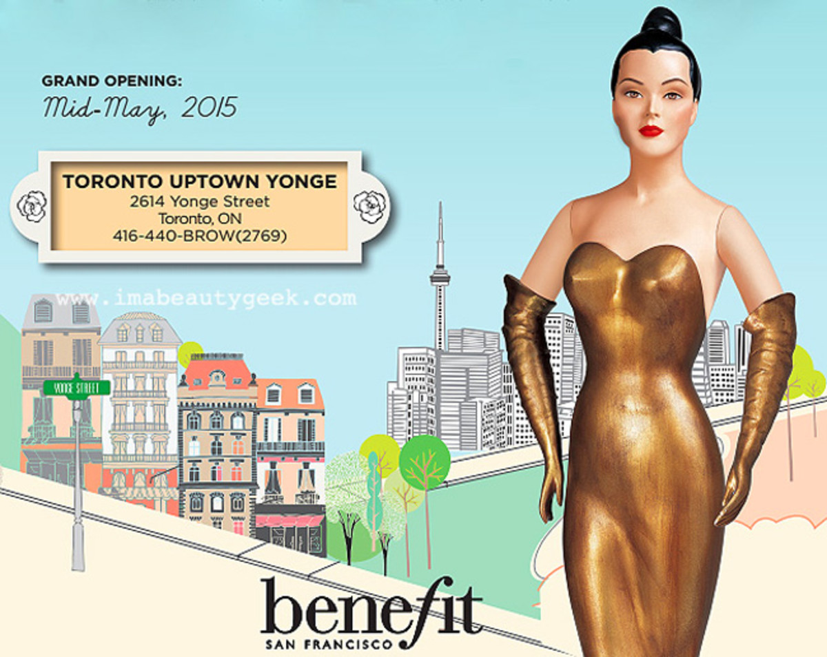Benefit Boutiques Canada_mid-town toronto