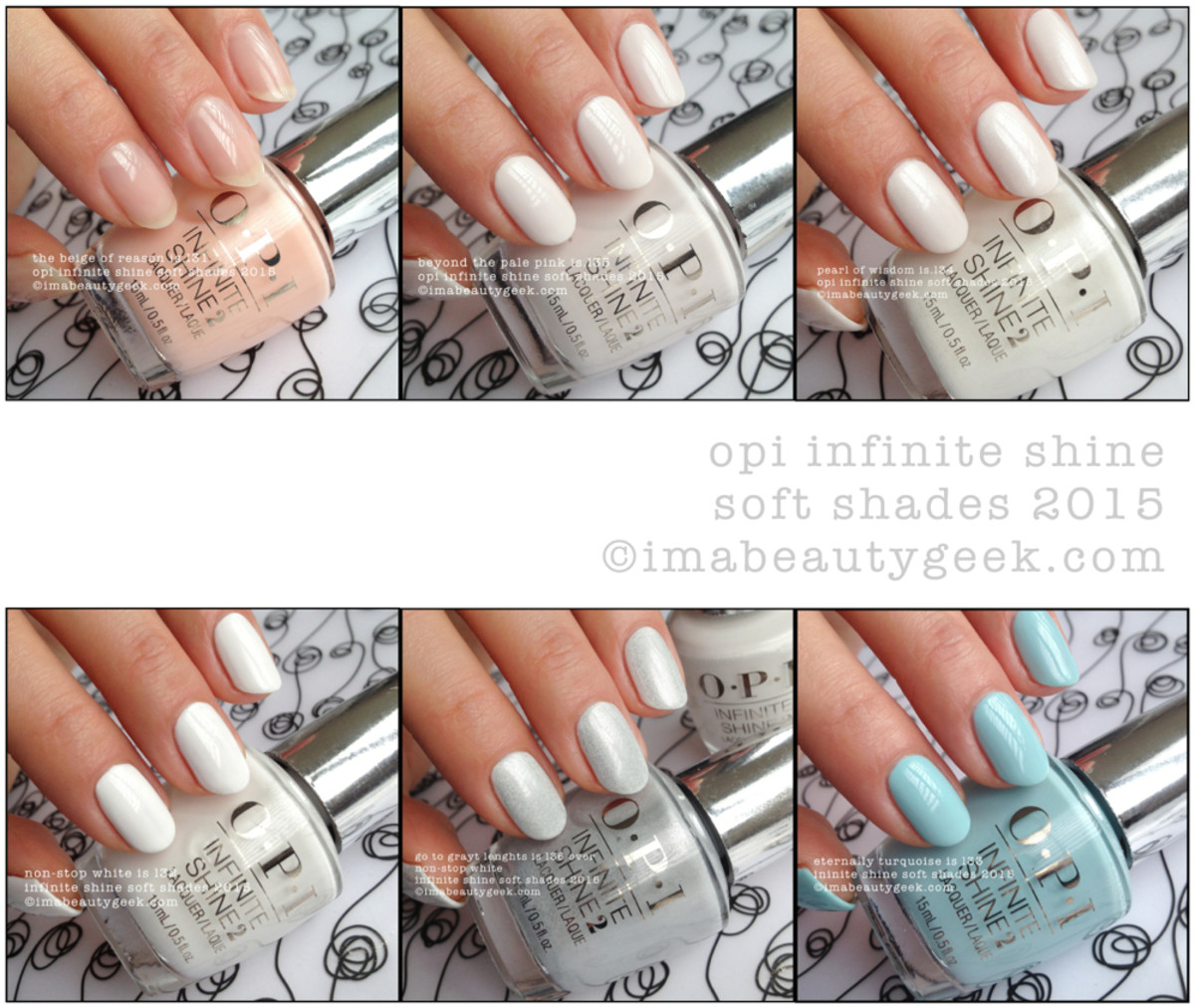 OPI Infinite Shine Soft Shades 2015 ManiGeek Composite