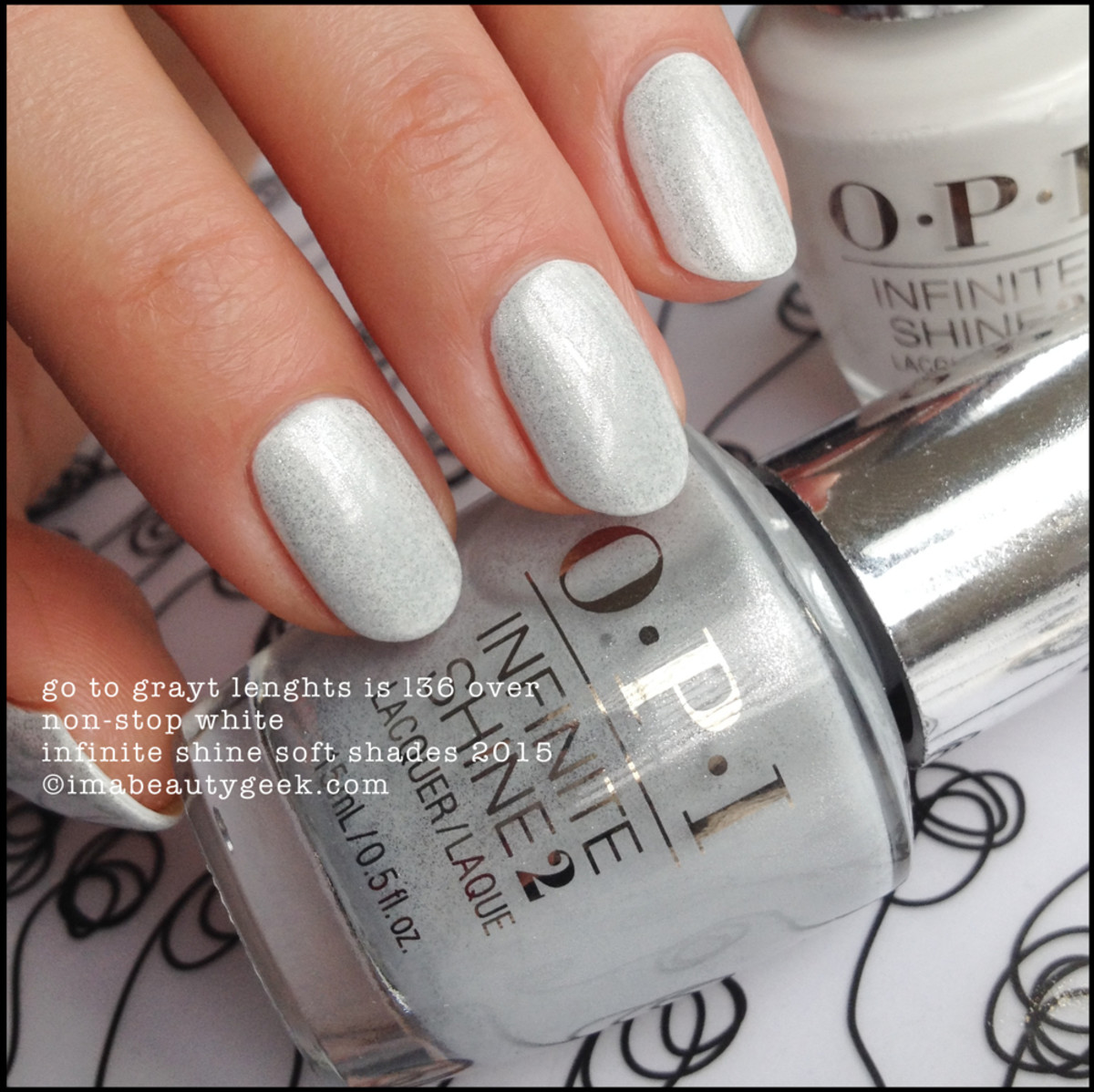 OPI Go To Grayt Lenghts OPI Infinite Shine Soft Shades 2015