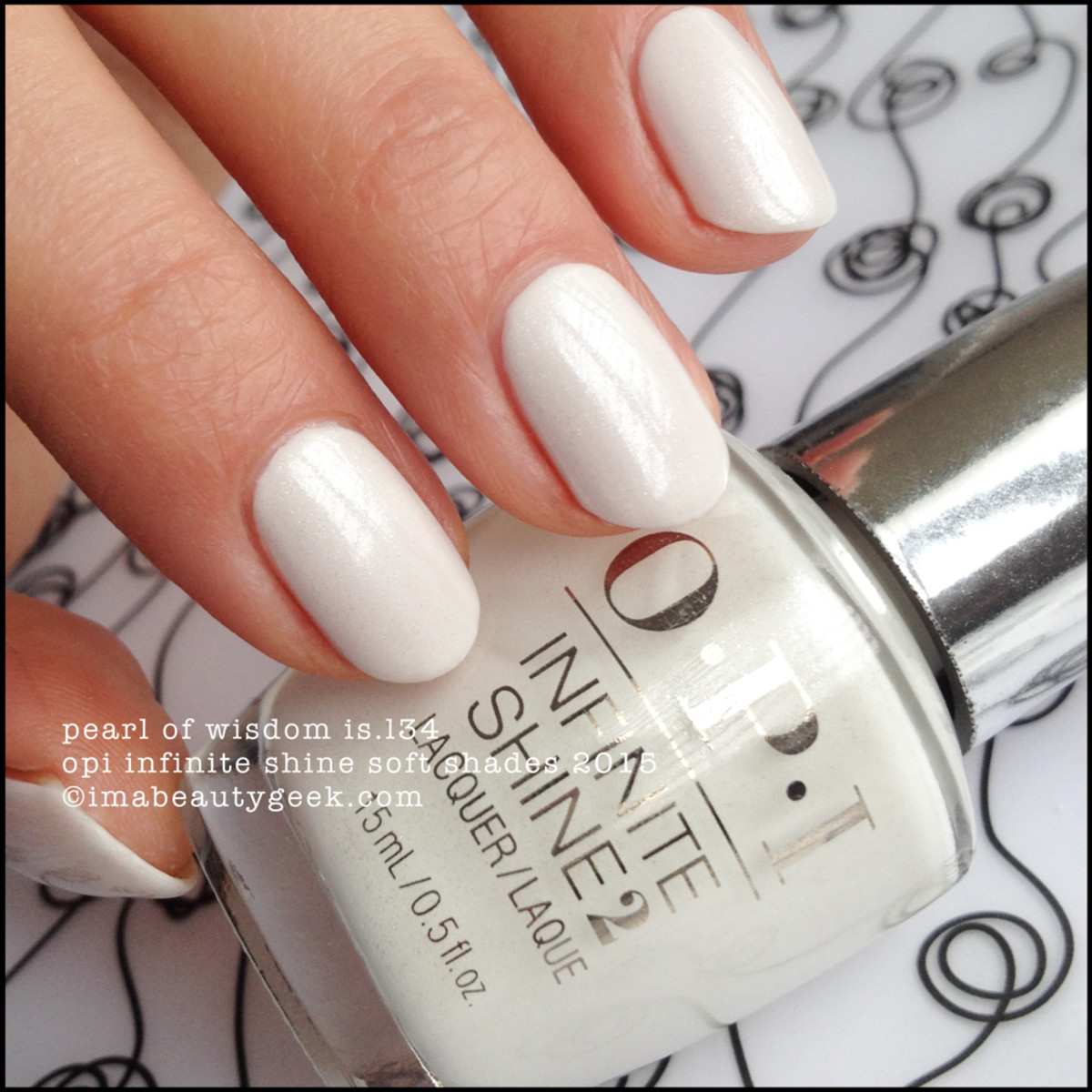 OPI Infinite Shine Pearl of Wisdom OPI Soft Shades 2015