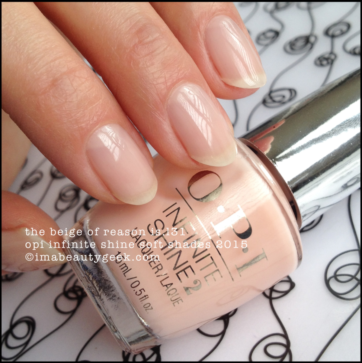 OPI Infinite Shine The Beige of Reason OPI IS Soft Shades 2015