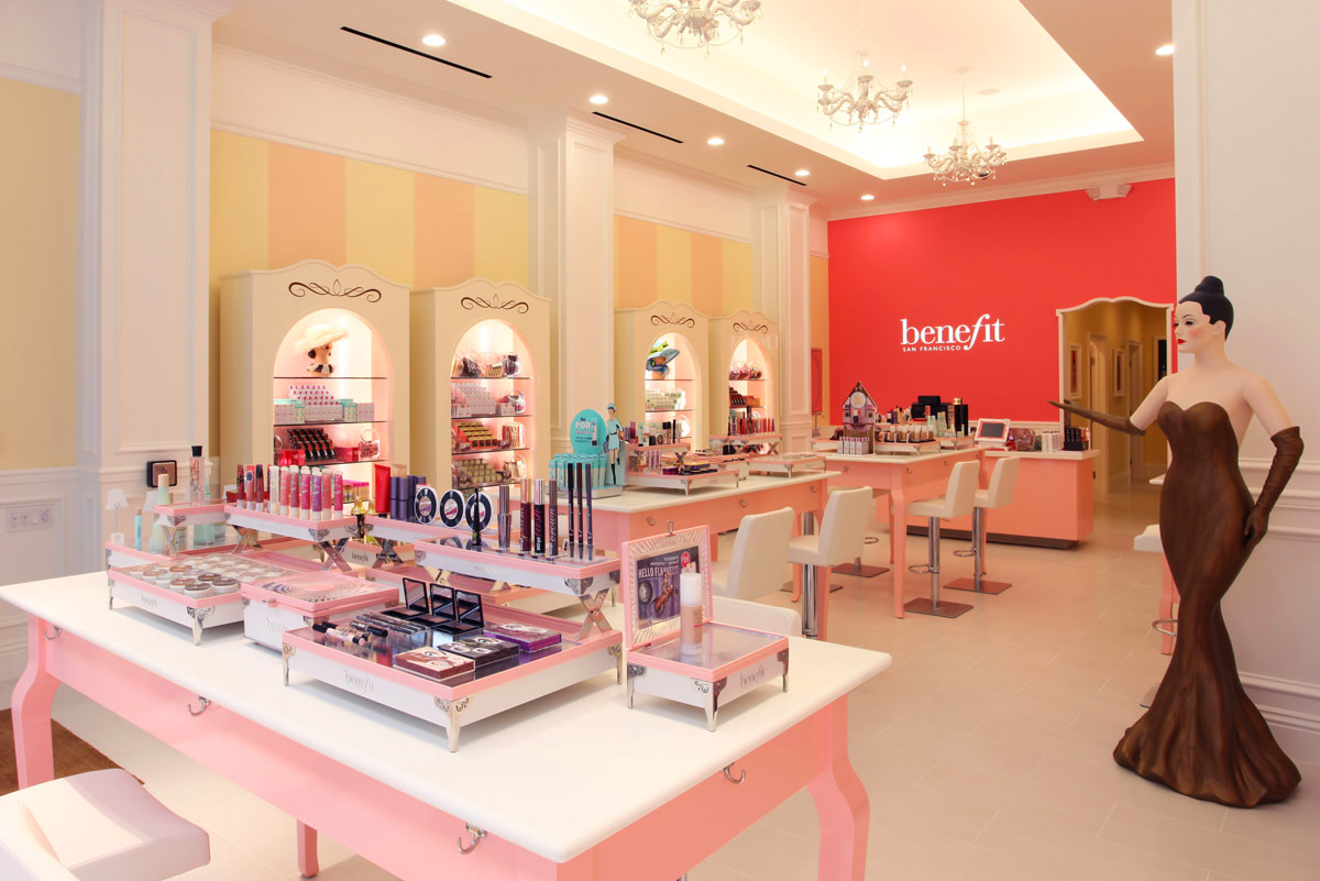 Benefit boutiques Canada_San Fran Sutter interior