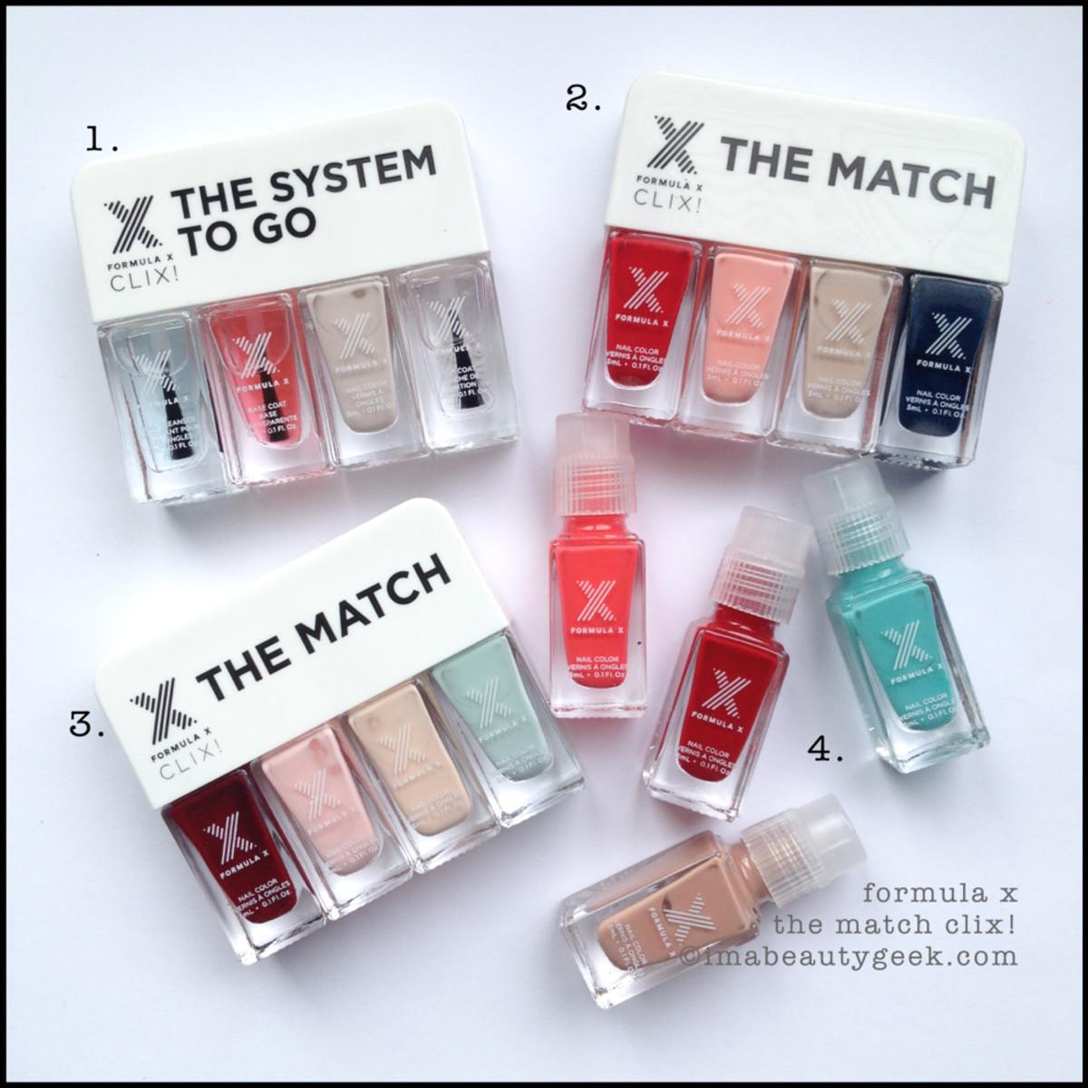 Formula X The Match Clix Sets Beautygeeks