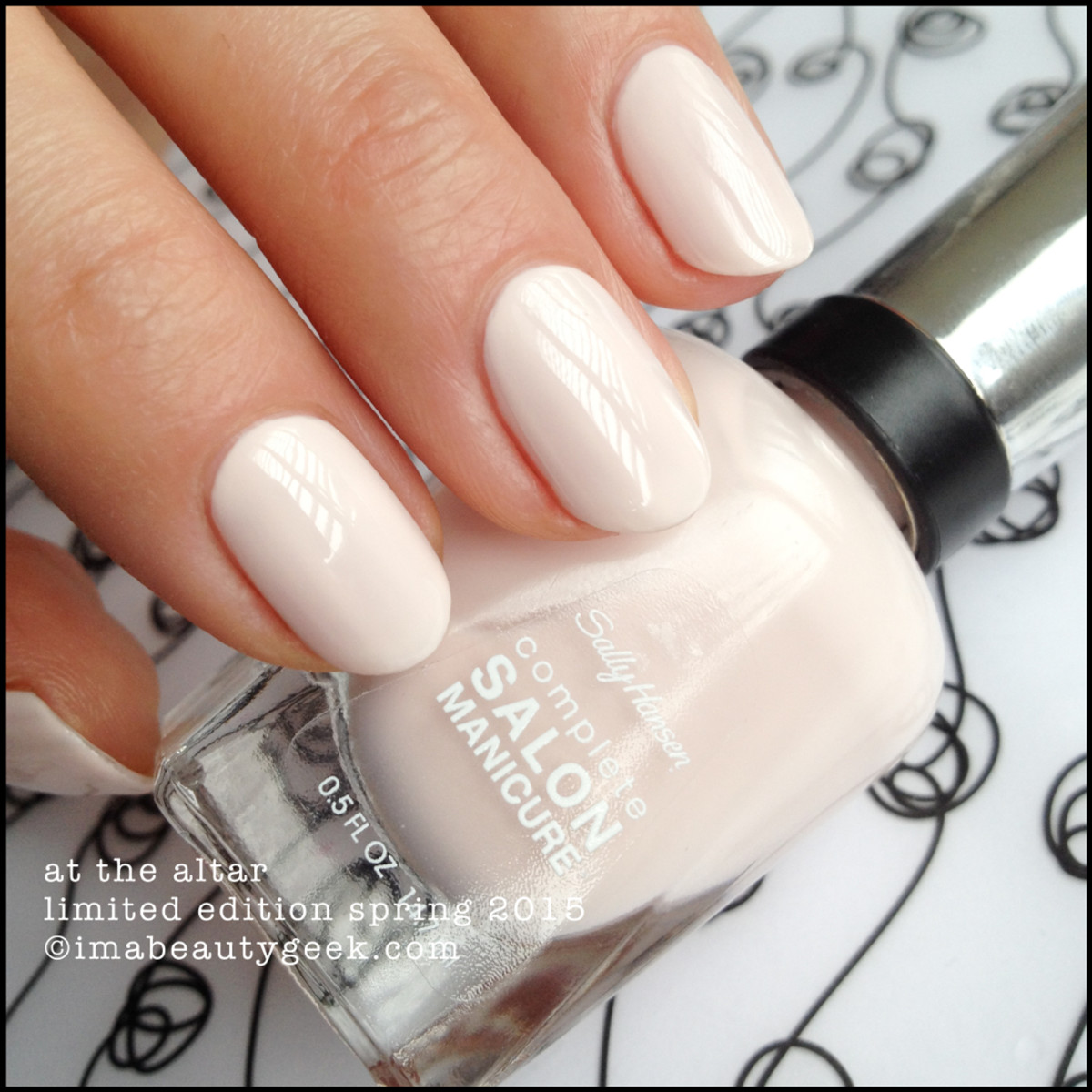 Sally Hansen Bridal At the Altar Bridal Limited Edition Spring 2015